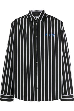 OFF-WHITE Striped long-sleeve shirt