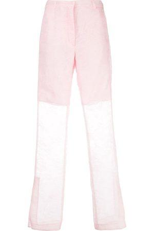 Cecilie Bahnsen High-waisted wide leg trousers