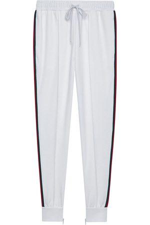 Gucci Logo patch track pants