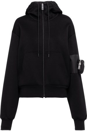 Prada Sleeve zip pocket hoodie