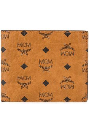 MCM Logo-print bifold wallet