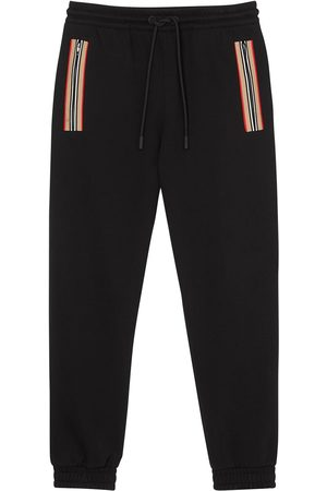 Burberry Icon-stripe track pants