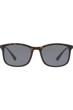 Prada Eyewear Prada Linea Rossa square frame tortoiseshell sunglasses