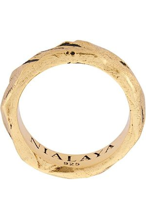 Nialaya Engraved ring
