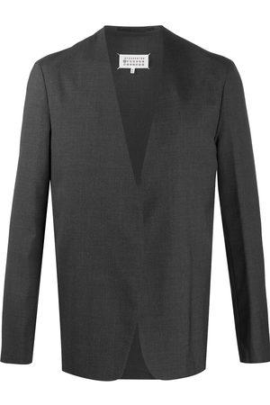 Maison Margiela Collarless open front blazer