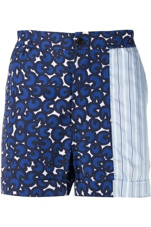 Neil Barrett Printed bermuda shorts