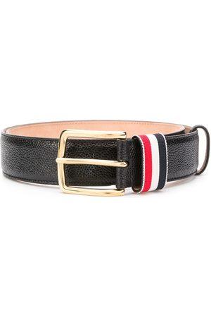 Thom Browne Muži Pásky - Striped loop pebbled belt