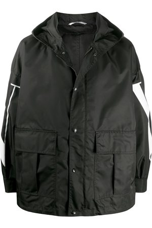 VALENTINO VLTN print windbreaker jacket