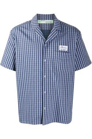 OFF-WHITE Striped short-sleeve shirt