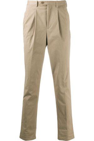 Neil Barrett Tapered leg chino trousers