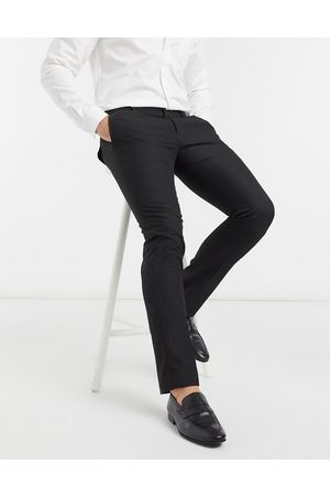French Connection Muži Chino - Smart trousers in skinny fit-Black