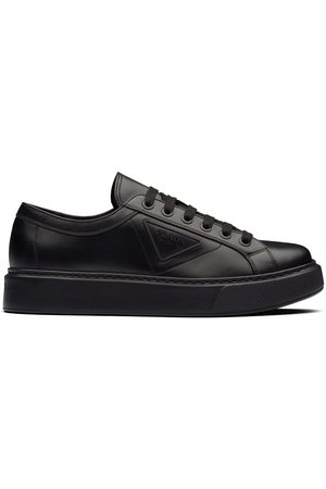 Prada Logo embossed low-top sneakers