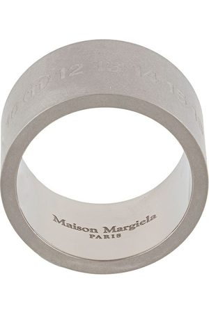 Maison Margiela Engraved Numbers ring