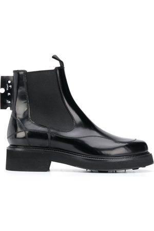 OFF-WHITE Logo patch Chelsea boots