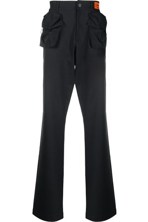 Heron Preston Tailored contrast pocket trousers