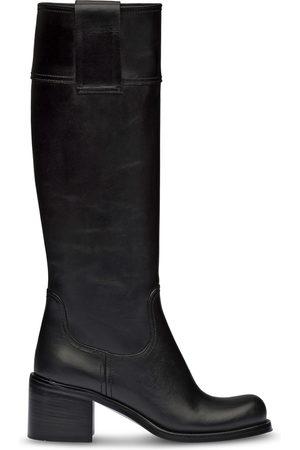 Miu Miu Chunky sole knee-high boots