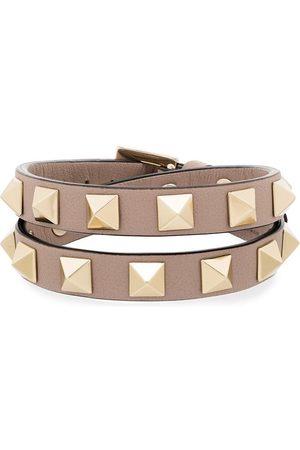 VALENTINO GARAVANI Rockstud wrap leather bracelet