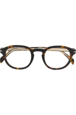 DB EYEWEAR BY DAVID BECKHAM DB 7017 round frame glasses