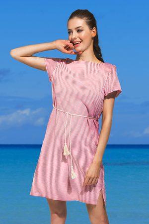 NATURANA Dámské plážové šaty Pandora červené