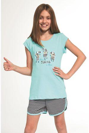 Cornette Dívčí pyžamo Zebra