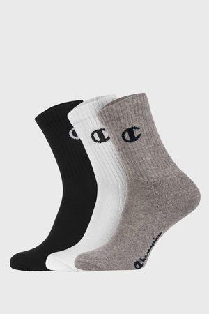 Champion 3 PACK sportovních basic ponožek