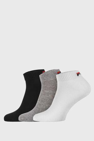 Fila 3 PACK tří barev nízkých ponožek