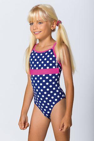 Lorin Dívky Jednodílné plavky - Dívčí jednodílné plavky Dots