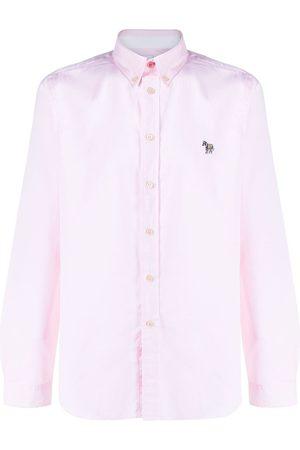 Paul Smith Long sleeve zebra patch shirt