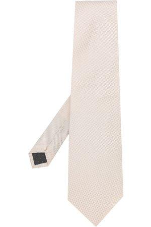 Gianfranco Ferré 1990s geometric weave tie