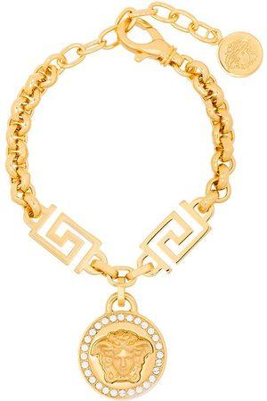 VERSACE Medusa-charm rolo-chain bracelet