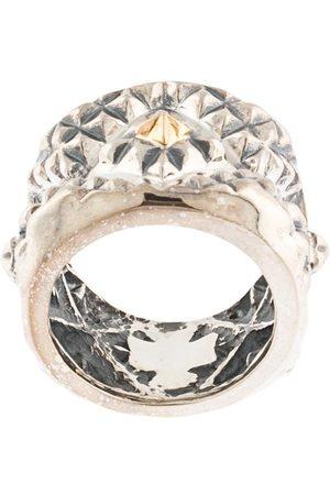 Natural Instinct Geometric pattern ring