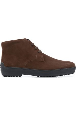 Tod's Suede boots with rubber soles