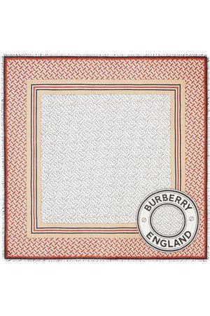 Burberry Large monogram square scarf