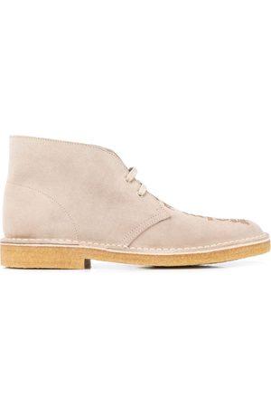 Palm Angels Logo desert boots
