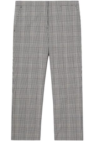 Burberry Check technical tailored trousers