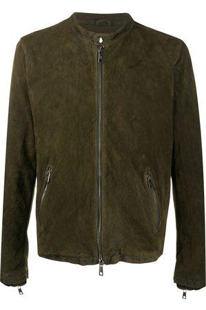 GIORGIO BRATO Suede bomber jacket