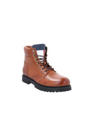 Tommy Hilfiger Muži Kotníkové - Pánská kožená kotníková obuv