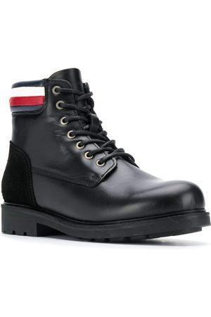 Tommy Hilfiger Muži Kotníkové - Pánská kožená kotníková obuv Active
