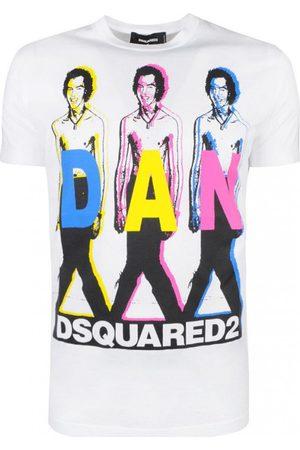 Dsquared2 Muži Trička - Pánské tričko Barva: , Velikost: L