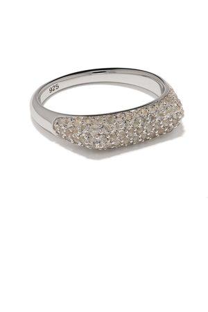TOM WOOD Prstýnky - Knut crystal studded ring