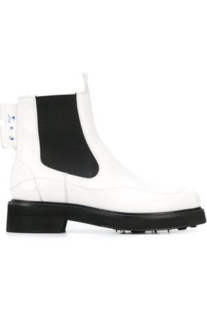 OFF-WHITE Logo-patch Chelsea boots