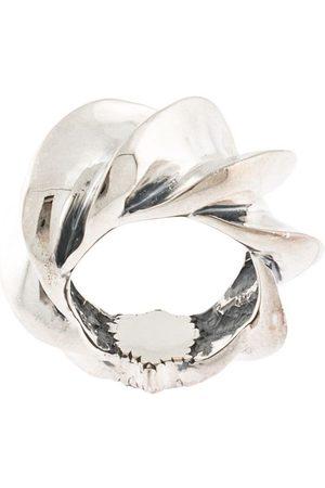 Natural Instinct Oversized textured ring