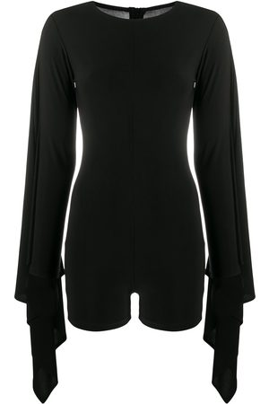 Alchemy Draped sleeves playsuit