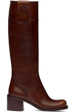 Miu Miu Pull-tab knee-high boots
