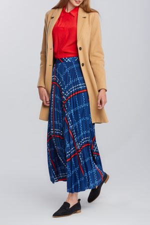 GANT Sukně D1. Signature Weave Pleated Skirt