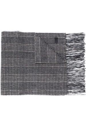 Saint Laurent Houndstooth scarf
