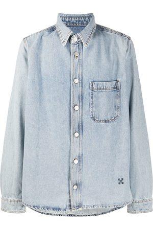OFF-WHITE Arrows-motif denim shirt