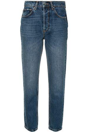 ANINE BING Sonya high-rise straight jeans