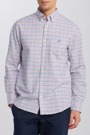 GANT Košile The Beefy Oxford Check Reg Bd