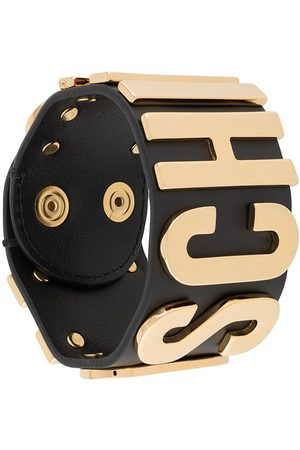 Moschino Logo lettering bracelet